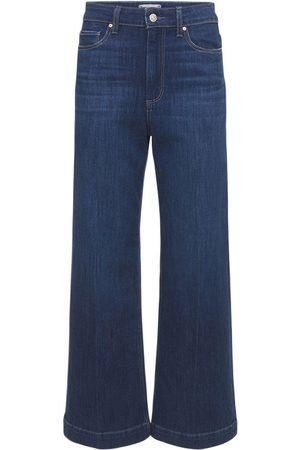 Paige Anessa Wide Leg Denim Jeans