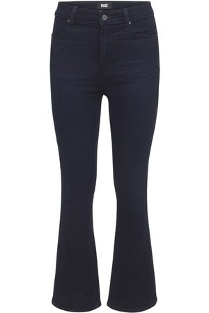 PAIGE Claudine Flared High Rise Denim Jeans