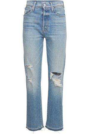 Mother Women High Waisted - High Waisted Hiker Hover Jeans
