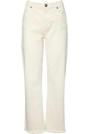 Etro Women Stretch - Stretch Cotton Cropped Jeans