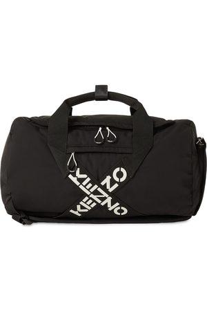 Kenzo Logo Sport Nylon Duffle Bag