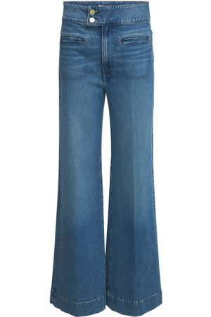 Frame Le Hardy Wide Leg High Rise Jeans