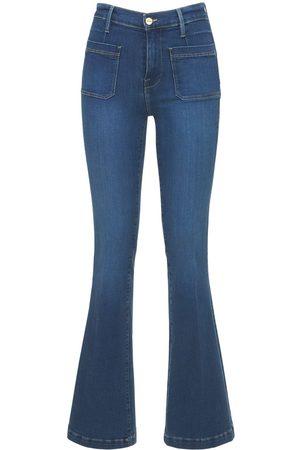 Frame Le Bardot Flared High Rise Jeans