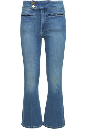 Frame Women Flares - Le Hardy Crop Flared Jeans