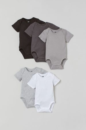 H & M Bodysuits & All-In-Ones - 5-pack Bodysuits