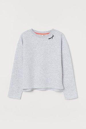 H&M Kids Sweatshirts - Embroidery-detail Sweatshirt