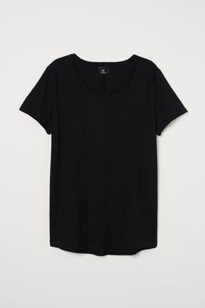 H&M Raw-edge T-shirt