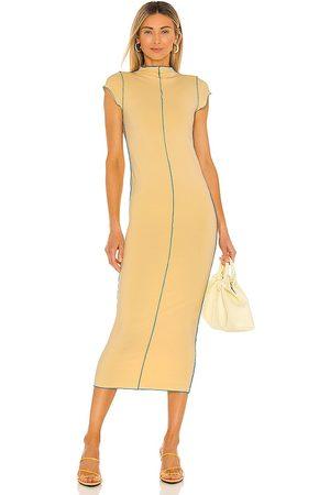 The Line By K Scout Merrow Dress in Lemon.