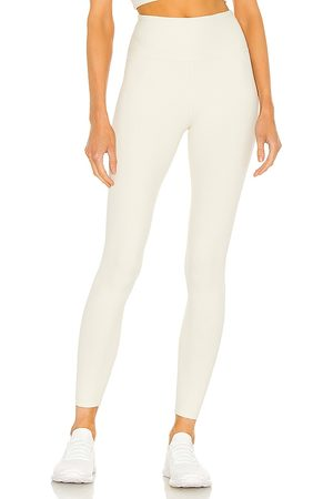YEAR OF OURS Ribbed High High Legging in Ivory.