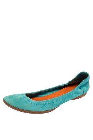 Hermès Suede Ballet Flats Size 39