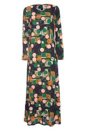 La DoubleJ Long Sleeve Swing Dress