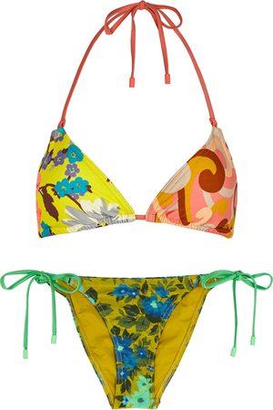 ZIMMERMANN Estelle printed halterneck bikini