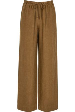 Vince Wide-leg woven trousers