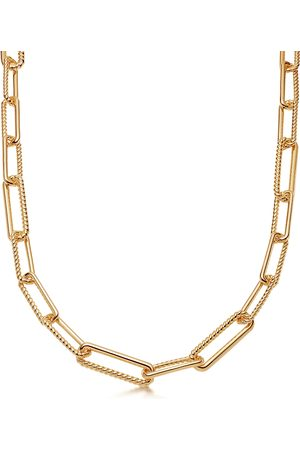 Missoma Coterie 18kt -plated chain necklace