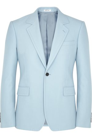 Alexander McQueen Light cotton blazer