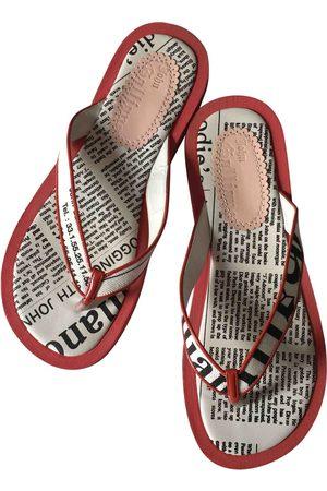 John Galliano Leather Sandals