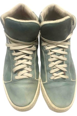 Alexander Mcqueen For P Leather Trainers