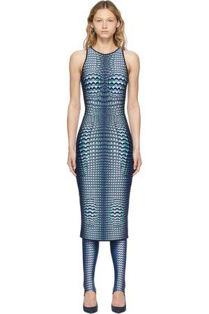 Marine Serre Denim Moonfish Dress