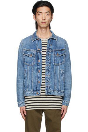 Nudie Jeans Blue Bobby Jacket