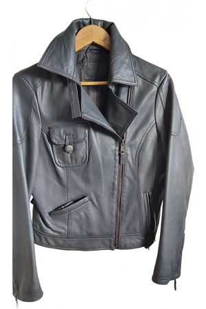 Cortefiel Leather Leather Jackets
