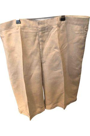 Capri Linen Shorts