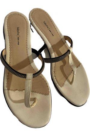 VALEXTRA Leather Sandals