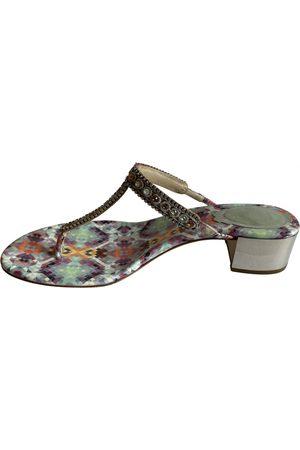 RENÉ CAOVILLA Leather Sandals
