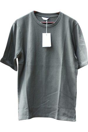 Samsøe Samsøe Men T-shirts - Khaki Cotton T-shirt