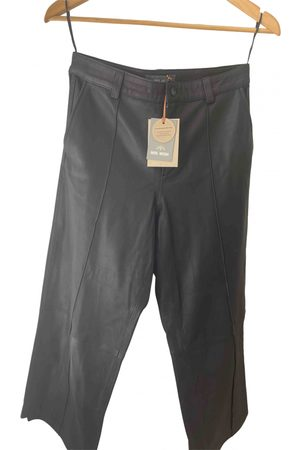 Mos Mosh Leather Trousers