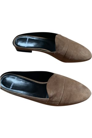 Pierre Hardy Suede Mules & Clogs