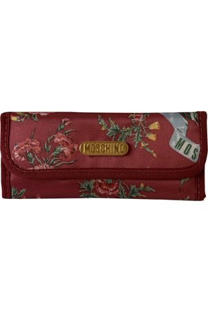 Moschino Polyester Purses\, Wallets & Cases