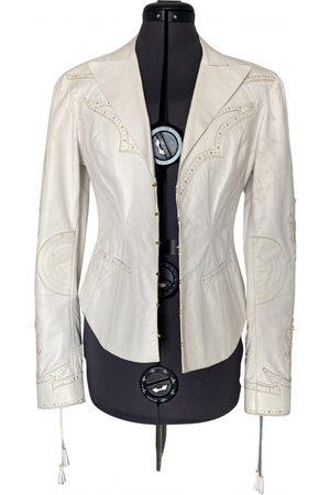 Roberto Cavalli Leather biker jacket