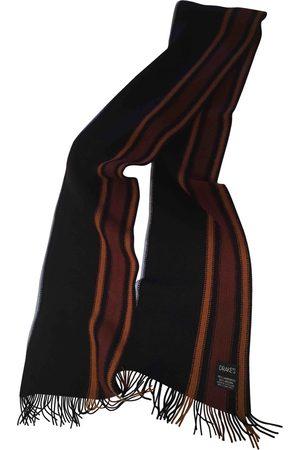 Drake's Wool scarf & pocket square
