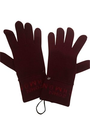 John Richmond Wool gloves