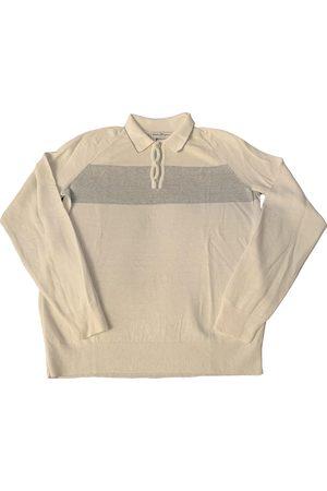 Salvatore Ferragamo Linen Polo Shirts