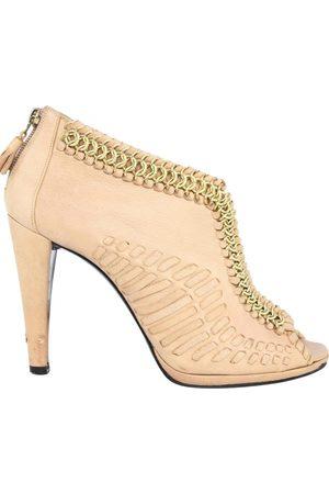 LARA Leather heels