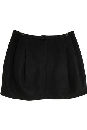 Mads Norgaard Wool mini skirt