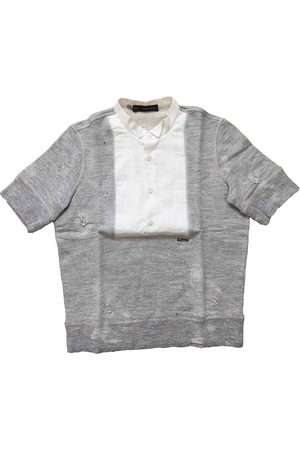 Dsquared2 Grey Cotton Top