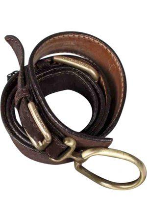 Dolce & Gabbana Suede Belts