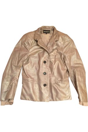 ANN DEMEULEMEESTER Leather blazer