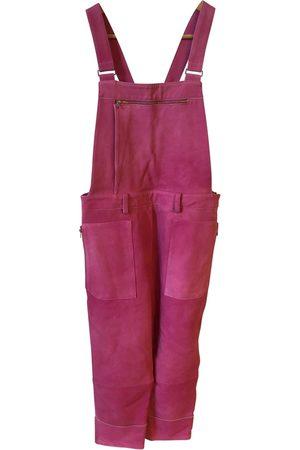 3.1 Phillip Lim Leather Jumpsuits