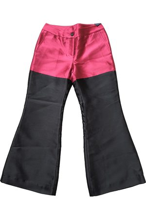 EUDON CHOI Polyester Trousers