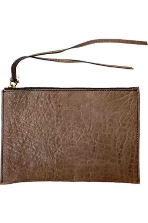ELENA GHISELLINI Leather clutch bag