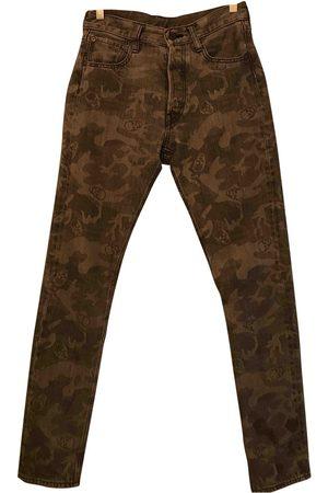LUCIEN PELLAT FINET Cotton Jeans