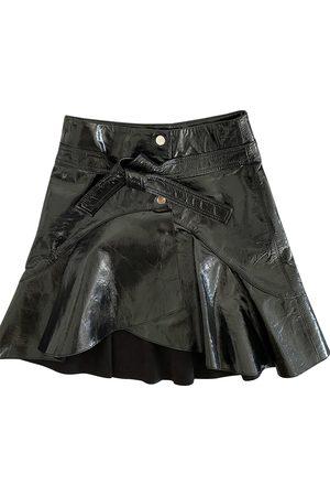 Maje Women Mini Skirts - Fall Winter 2020 patent leather mini skirt