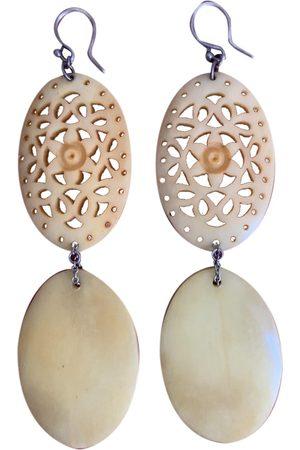 CHAN LUU Horn Earrings