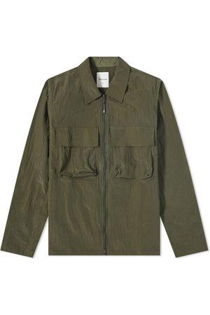 WoodWood Men Casual - Egon Nylon Ripstop Zip Overshirt