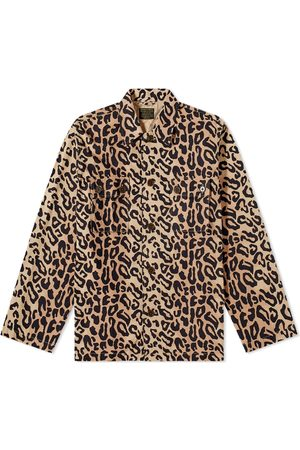 Wacko Maria Leopard Army Shirt