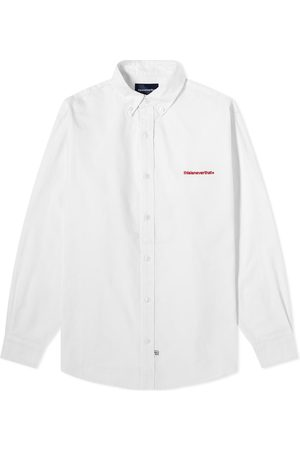This Is Never That Men Shirts - T-Logo Oxford Shirt