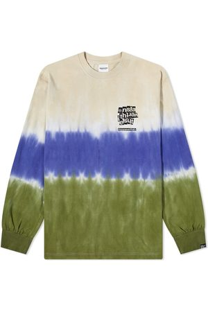 This Is Never That Men T-shirts - Ls Tie Dye Stripe Tee